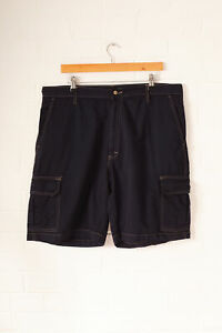 Details about Vintage dickies cargo shorts navy (w38) show original title