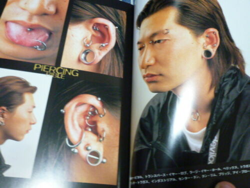 Piercing Bible An Investigation of contemporary Body Modification From Japan