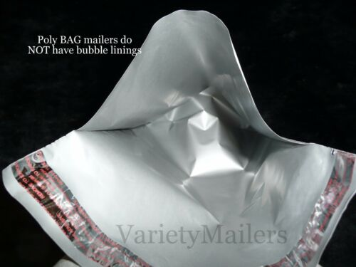 """4 Extra Large Poly Envelopes ~ 24/""""x 36/""""  2.5 Mil Quality ~ Self-Sealing Mailers"""