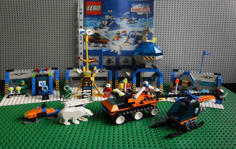 Lego City 6575 Arktis Klima Polar Station Figures OVP