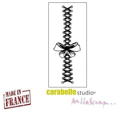 *MINI TAMPON CARABELLE STUDIO EMBELLISSEMENT SCRAPBOOKING CARTERIE DECORATION*
