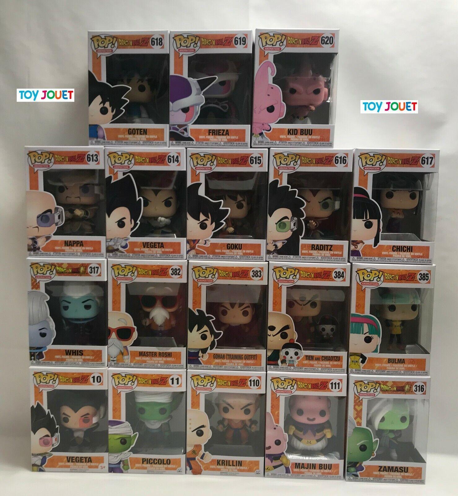 lot  of 18 funko pop dbz nouveau dragonball z comprising the novelcravates  vente d'usine en ligne discount