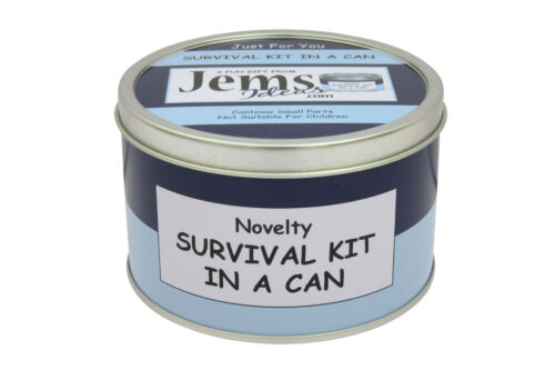Novelty Wedding//Female//Her//Women Gift WIFE ANNIVERSARY SURVIVAL KIT IN A CAN