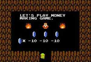 Nintendo Nes 25 X 35 Fridge Magnet Zelda Oldman Caves Decor 5