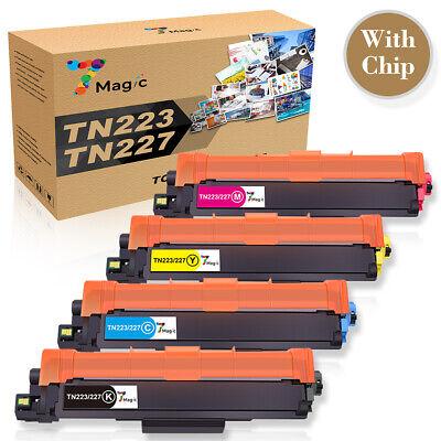 Compatible Brother TN227 TN223 Toner  MFC-L3770CDW HL-L3270CDW L3290CDW