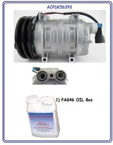Seltec Freightliner Rv 22-51980-000 TM15HS A//C Compressor Novo SAE-J639
