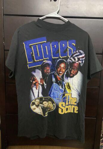 Vintage 90s Rap Tee Fugees Lauryn Hill