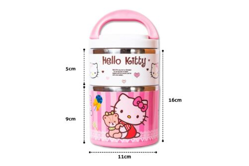 Kids Lunch Box Hello Kitty Non-Spill Thermal Insulated Lunch box for School