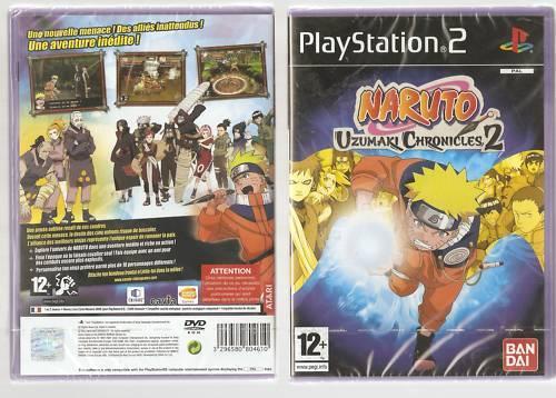 Rare !!! NARUTO UZUMAKI CHRONICLES 2 : Le Meilleur sur PS 2. Jeu NEUF Blister