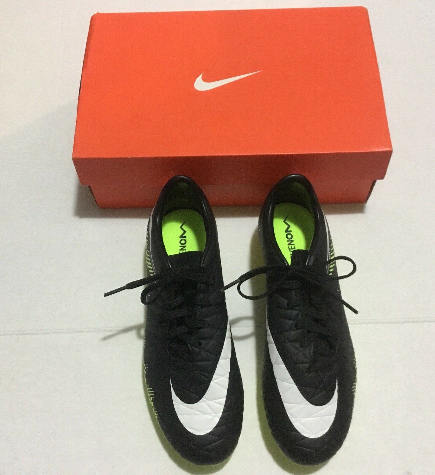 Nike uomini hypervenom phelon ii fg 749896017 749896017 749896017 football boot scarpette blk / giallo 6,5 9cdb70