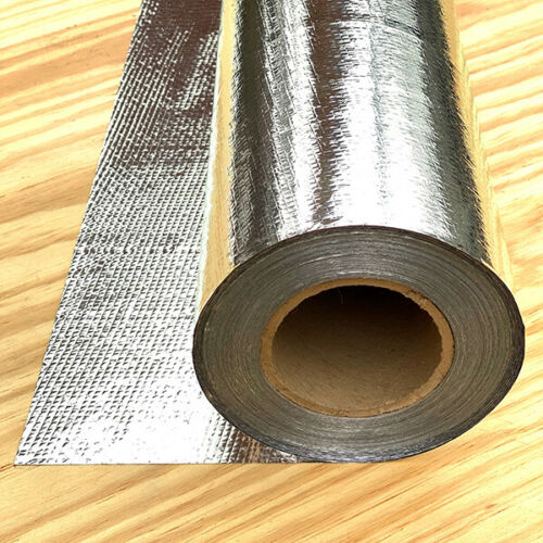 HEAVY Aluminum Vapor Barrier 500 sf roll Foil Insulation Radiant Barrier