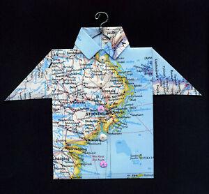Origami-Map-Shirt-Lidingo-Stockholm-Solna-Uppsala-Norrkoping-Sweden