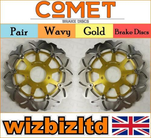 GOWE Motorcycle One Pair Front Brake Rotor Disc Disk For