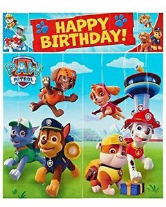 Nick Jr. Paw Patrol Scene Setters Wall Banner Birthday Party ...