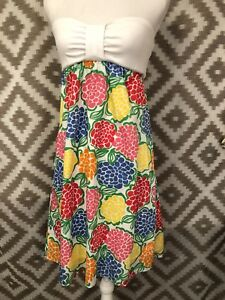 0defad82bc4 Image is loading Lilly-Pulitzer-Size-Medium-Paterson-Strapless-Dress-Minnie-