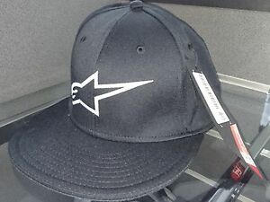 ALPINESTARS-AGELESS-FLAT-PEAK-CAP-HAT-BASEBALL