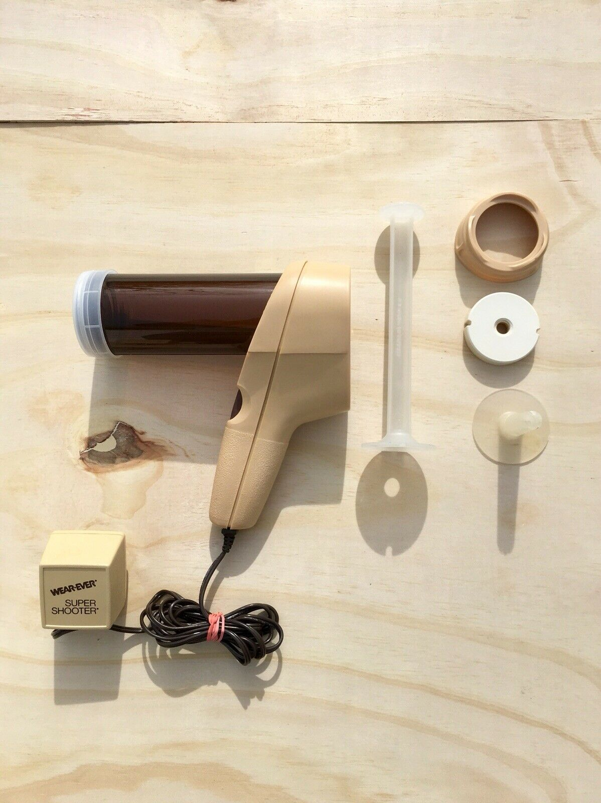 Wear-Ever Super Shooter  The Electric Foodgun  cookie canapé cooky press bakery