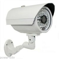 Am 1/3 Cmos Ccd 1300tvl Night Vision 48 Infrared Outdoor Bullet Security Camera
