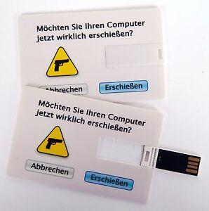 Details Zu Usb Stick 4 Gb Scheckkartenformat Kreditkarte Visitenkarte Computer Erschießen