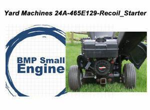 Recoil Pull Starter For Yard Machines