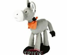 Plush Dog Checkered 26 Cm Trixie Neoprene Leather Polyester Toys Dogs
