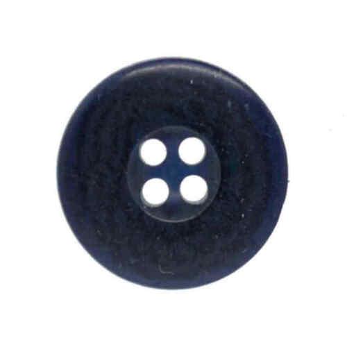 Azul Con Botones Blazer 4 Agujero Negro 20mm