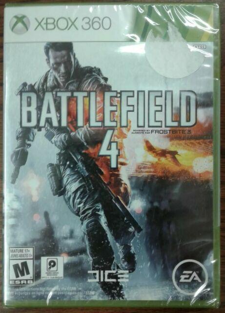 Battlefield 4 (Microsoft Xbox 360, 2013) Factory Sealed