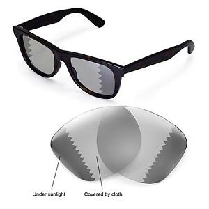 52b80b4e48c New Walleva Polarized Transition Lenses For Ray-Ban Wayfarer RB2140 ...