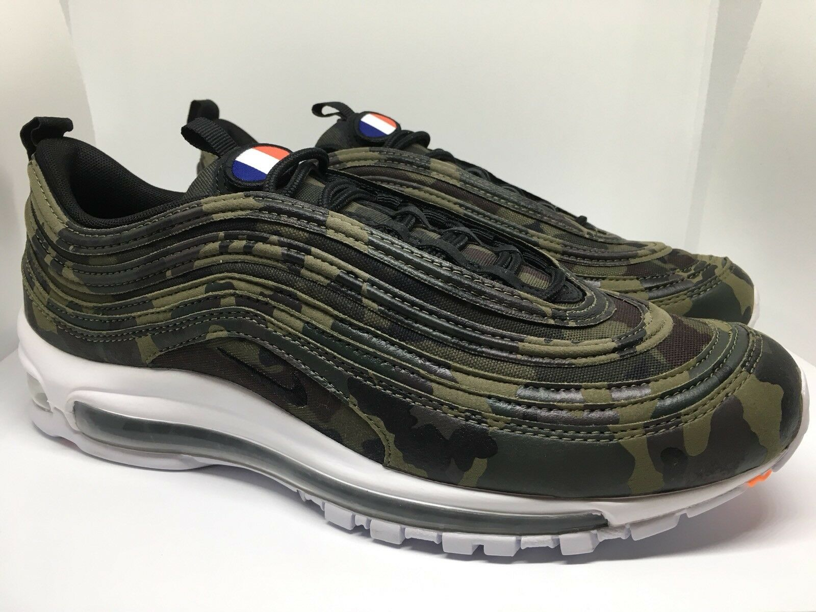 Nike Air QuickStrike Max 97 UK9 Premium QuickStrike Air French Camouflage Camo UK9 8f86dd