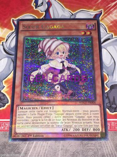 Carte Yu Gi Oh SOEUR GAGAGA WSUP-FR006