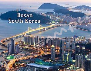 South-Korea-BUSAN-skyline-Travel-Souvenir-Flexible-Fridge-Magnet