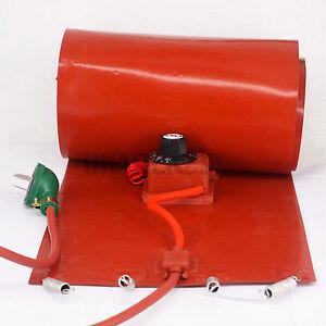 200 L 55 Gallon 250x1740x1 6mm 3000w Band Drum Heater Oil