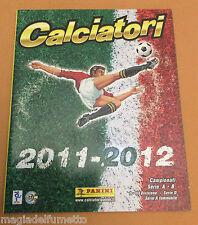ALBUM FIGURINE PANINI CALCIATORI 2011-2012 - VUOTO / EMPTY  OTTIMO