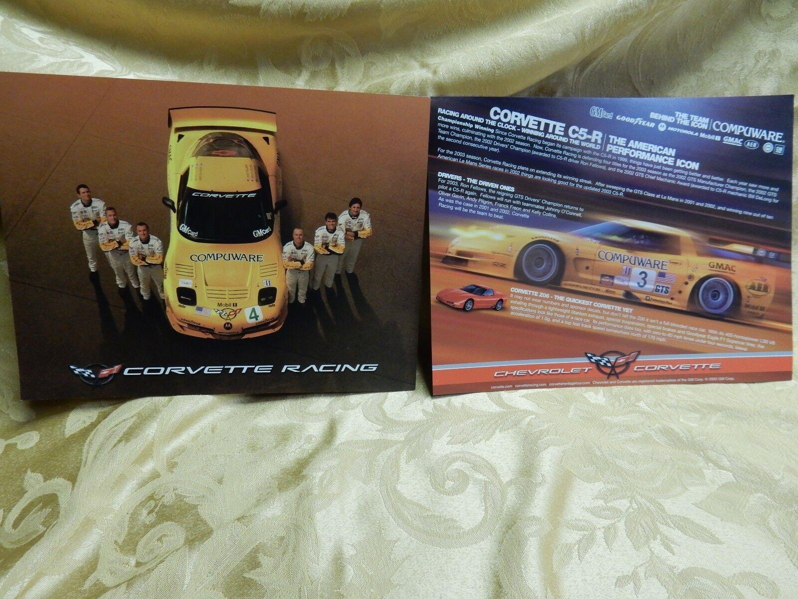 "26/"" x 18/"" brand new Corvette Racing Poster C5 Z06 C5-R Race Car Cutaway"