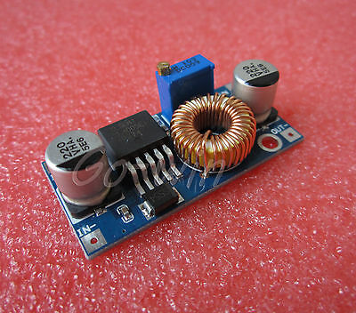 DC-DC Step Down Adjustable Power Supply Module LED Lithium Charger board 5A