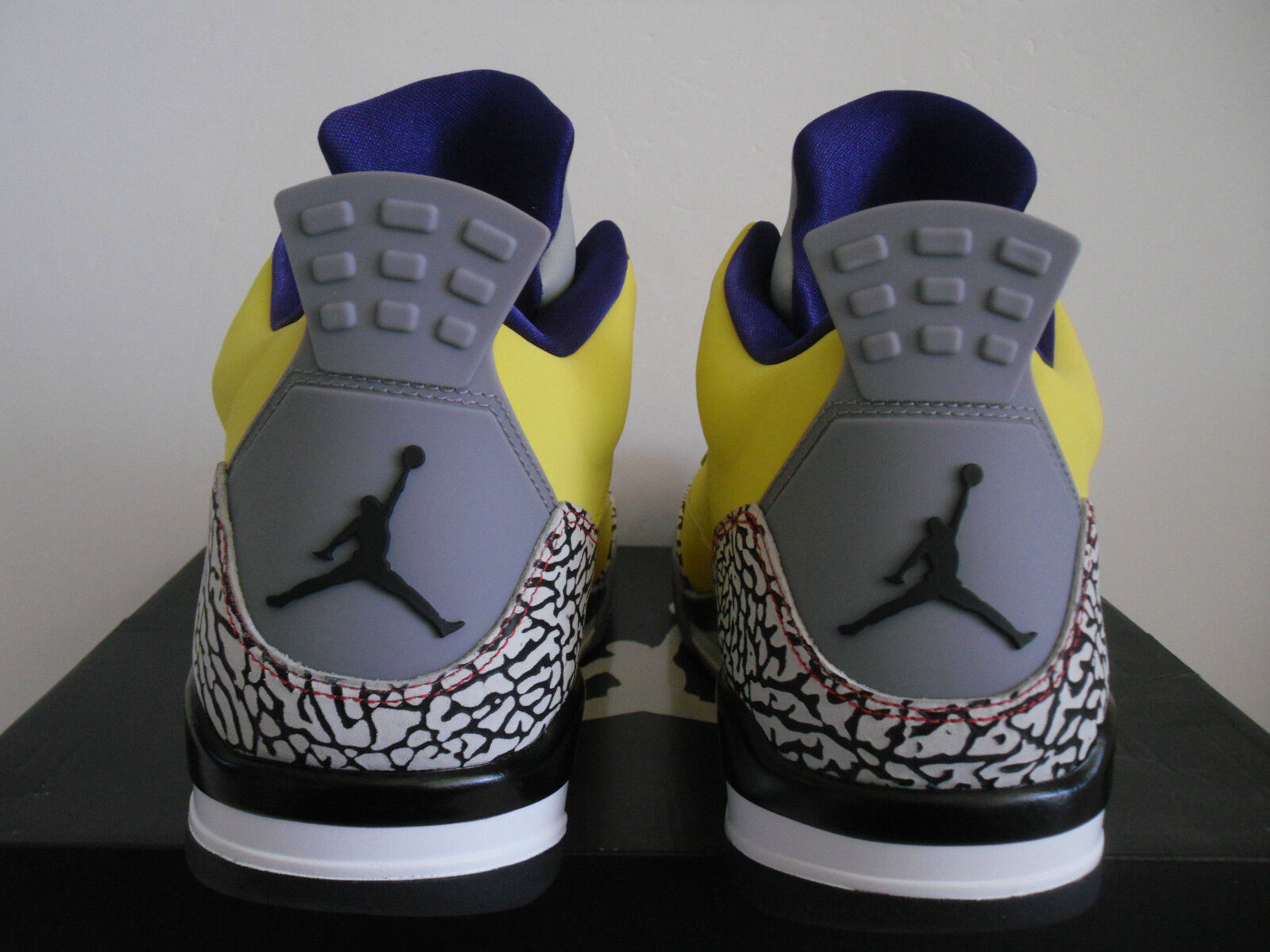 Nike air jordan, figlio di yellow-grape-cement low tour yellow-grape-cement di grey sz 7 [580603-708] e4c304