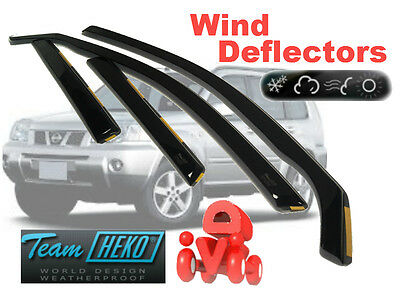 NISSAN X-TRAIL T 30  2001- 2007  WIND DEFLECTOR  4.pcs set HEKO (24239)