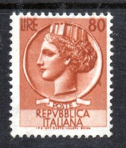 "Italy - 1953 Definitive Mi. 891 (key) MNH Scarce stamp! - Enschede, Nederland - Italy - 1953 Definitive Mi. 891 (key) MNH Scarce stamp! Click the button below to view more Italian lots from our extensive offerings. After clicking select ""Italy"" in the blue side-bar on the left. Our lots start at just €0,25 Com - Enschede, Nederland"