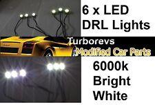 WHITE 6000k LED DAYTIME RUNNING SPOT LIGHT DRL AUDI A2 A3 TT A4 A6