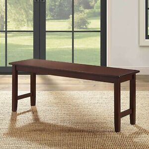 Details about Dining Room Table Bench Seat Kitchen Tables Breakfast Nook  Seating Wood Benches