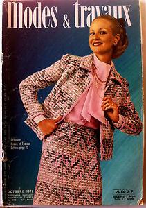 Mode-amp-Travaux-du-10-1972-Page-poupees-Marie-Francoise-et-Jean-Michel
