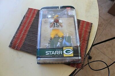 Bart Starr légendes 5 Green Bay Packers loose Chase MCFARLANE