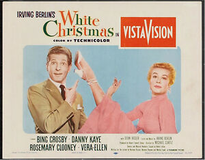 White Christmas 1954.Details About White Christmas 1954 Vintage Lobby Card 4