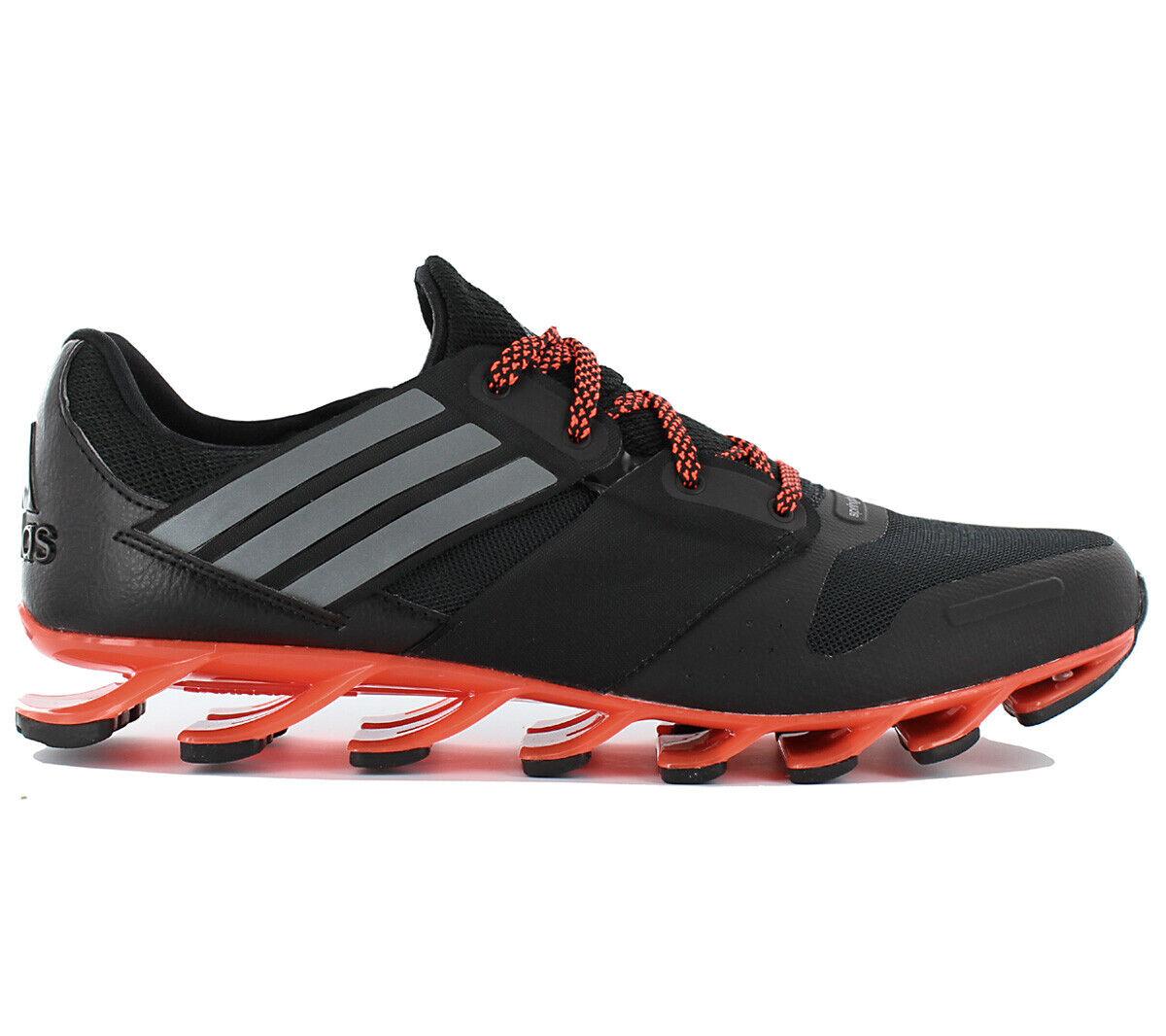 Adidas springblade solyce m zapatos aq7930 caballeros zapatillas running negro nuevo