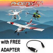 Phoenix R/C RTM5500 Pro Flight Simulator V5.5 w/FREE Futaba / Hitec Adapter
