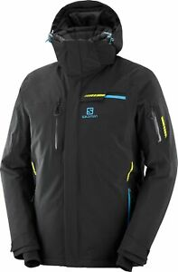 Salomon Men Brilliant Jacket - Black/Black