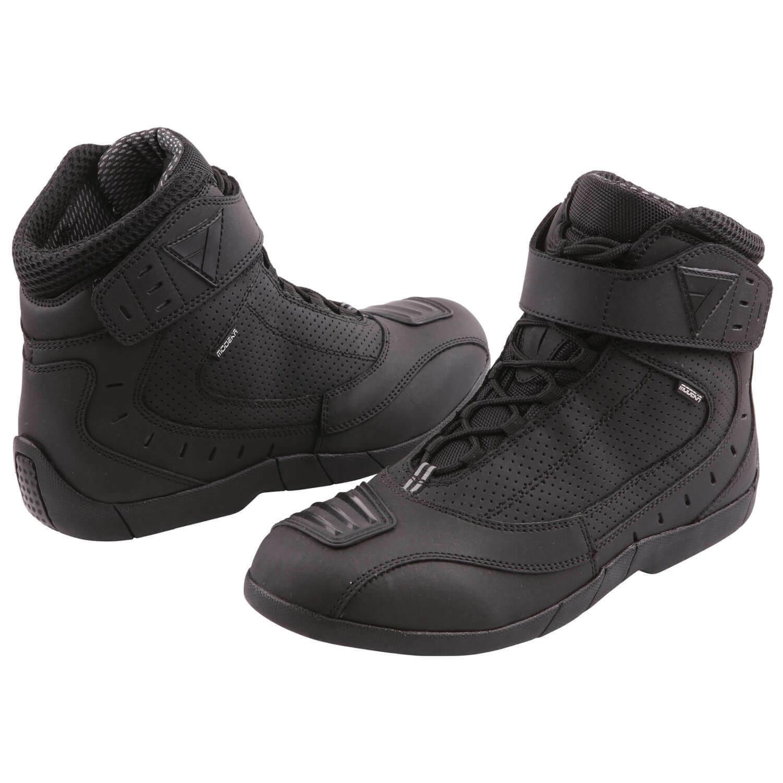 Modeka Black Rider Men's Motorcycle Boots Leather - Black