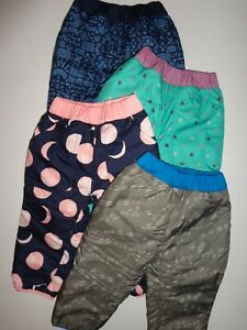 Patagonia Baby Reversible Tribbles Pants 60325 Size 2t