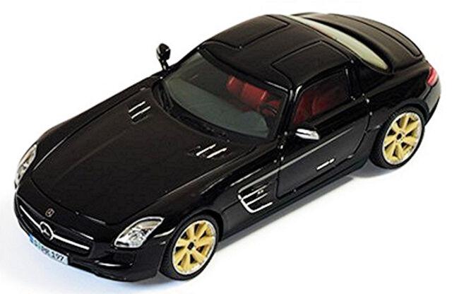 Lorinser SLS AMG Rsk 8 Mercedes Benz C197 Coupé 2010 Negro Negro 1:43 Ixo