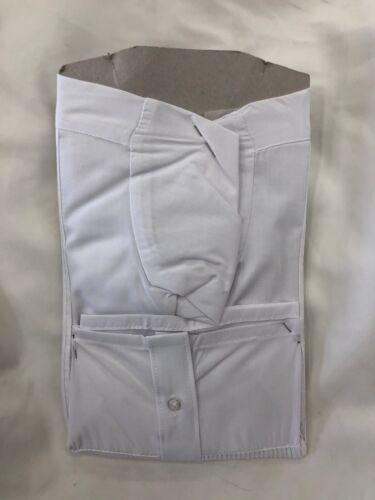 Garçons Blanc Tuxedo robe Chemise Avec Noir Nœud Papillon Manches Longues Tailles 4,5,6,7